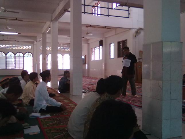 Pengarahan Tahfizh by Ust.Anwar @ Masjid Dakwah USU,Medan